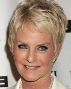 Short Hairstyles For Mature Woman
