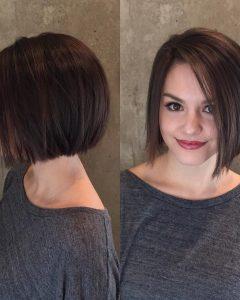 Short Straight Bob Hairstyles