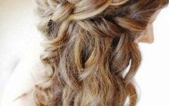 Long Hairstyles Half Up Curls