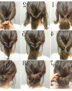 Easiest Updo Hairstyles