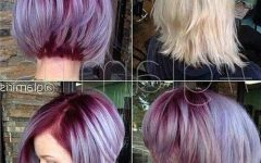 Short Colored Bob Hairstyles