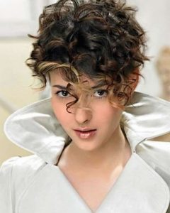 Short Bob For Curly Hairstyles