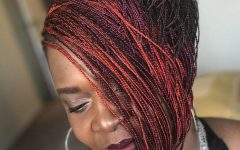 Short Stacked Bob Micro Braids