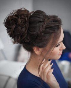 Cute Bun Updo Hairstyles