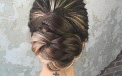 Fishtailed Snail Bun Prom Hairstyles