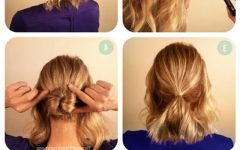 Easy Braided Updos for Medium Hair