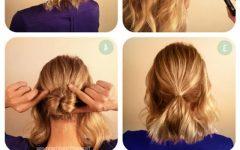 Updos Medium Hairstyles