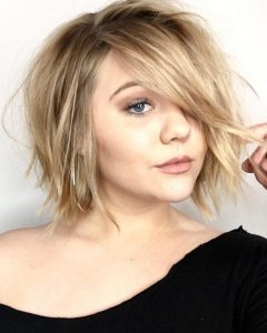 Edgy Bob Hairstyles With Wispy Texture