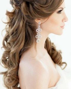 Long Wedding Hairstyles For Bridesmaids