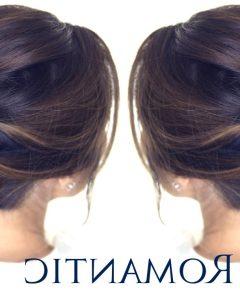 Easy Bun Updo Hairstyles For Medium Hair