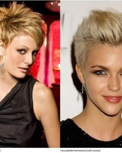Spunky Short Hairstyles