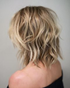 Shoulder Length Shaggy Hairstyles