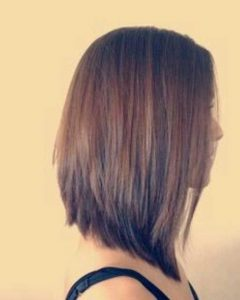 Long Tapered Bob Haircuts