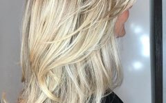 Voluminous Layers Under Bangs Hairstyles
