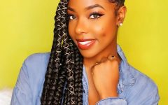 Cornrows Hairstyles to the Side