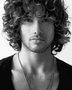 Mens Long Curly Haircuts