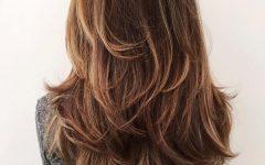 Chic Chocolate Layers Hairstyles