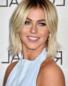 Center Part Short Hairstyles