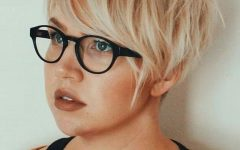 V-cut Outgrown Pixie Haircuts