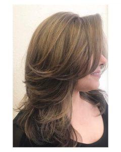 Medium Hairstyles in Layers