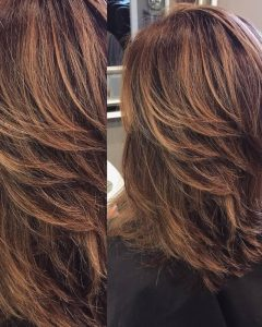 Medium Textured Layers For Long Hairstyles
