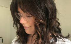 Medium Hairstyles With Long Fringe