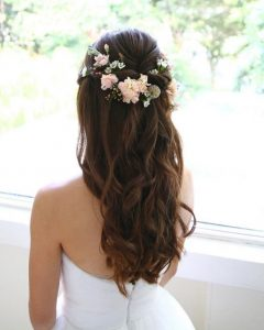 Wedding Hairstyles For Long Hair With Bangs