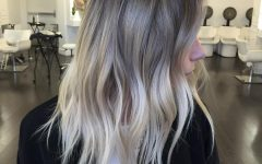 Grayscale Ombre Blonde Hairstyles