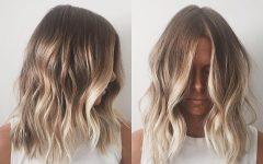 Medium Blonde Balayage Hairstyles