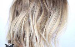 Blonde Choppy Haircuts for Medium Hair