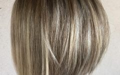 Rounded Bob Hairstyles with Razored Layers