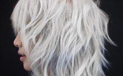 Gorgeous Wavy White Shag Haircuts