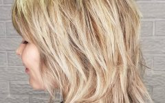 Textured Long Shag Hairstyles with Short Layers