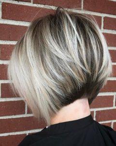 Stacked Blonde Balayage Bob Hairstyles
