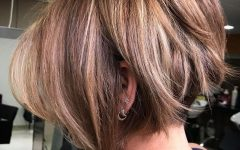 Undercut Bob Hairstyles with Jagged Ends