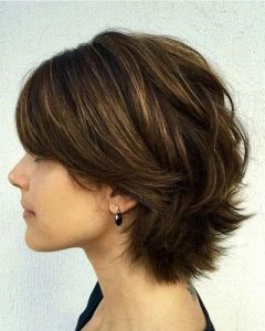 Low Maintenance Short Haircuts For Thick Hair
