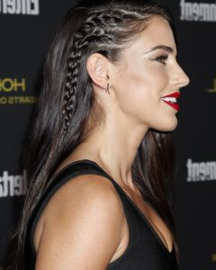 One Side Braided Hairstyles