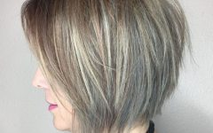Balayaged Choppy Bob Haircuts