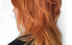 Jagged Red Ombre Hairstyles