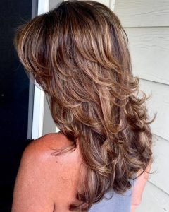 Long Hairstyles With Short Flipped Up Layers