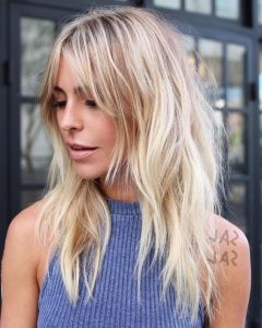 Long Choppy Hairstyles With Feathering