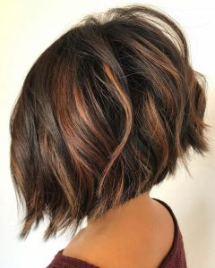 Angled Bob Hairstyles For Thick Tresses