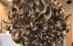Dark-blonde Short Curly Hairstyles