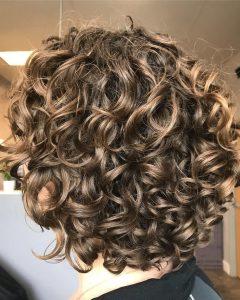 Dark-blonde Short Curly Hairstyles