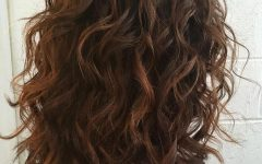 Wavy Layered Haircuts for Thick Hair