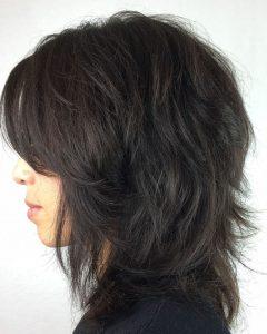 Full And Thick Shag Haircuts