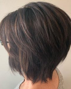 Razored Two-Layer Bob Hairstyles For Thick Hair
