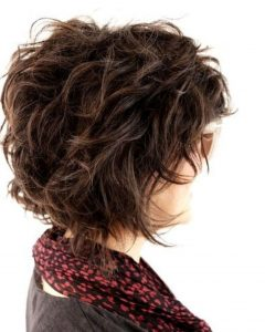 Flawless Curls Shag Haircuts