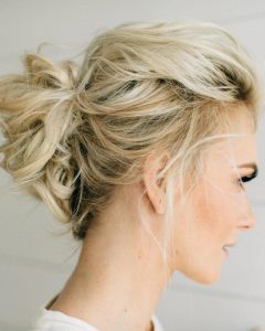 Updos For Medium Length Thin Hair