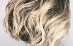 High Contrast Blonde Balayage Bob Hairstyles